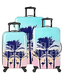 We Live It Up Hardside Luggage Collection
