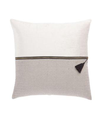 Nikki Chu By Kirat Textured Poly Throw Pillow 22