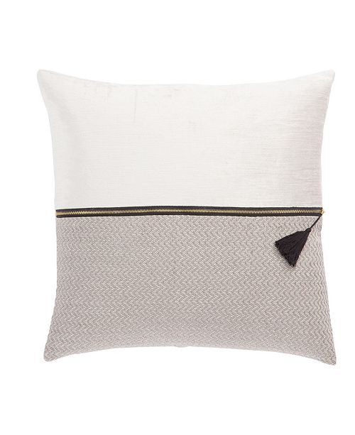"""Jaipur Living Nikki Chu By Kirat Textured Throw Pillow 22"""" Collection"""