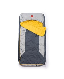 Omnicore Designs Home-Away-Bed M-3D 30 Degree Fahrenheit -1.1 Degree Celsius Multi-Down Hooded Mummy Sleeping Bag and Tall XL