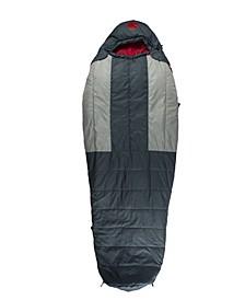New Standard M-3D 10 Degree Fahrenheit -12.2 Degree Celsius Ultra-Lightweight Multi- Down Mummy Sleeping Bag and Tall XL