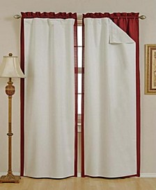 "54"" x 60"" Thermal Blackout Curtain Liner Set"