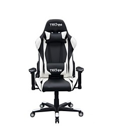 Techni Sport TS-4600 Ergonomic Video Gaming Chair, Quick Ship