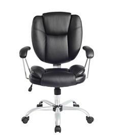 Techni Mobili Plush Task Office Chair, Quick Ship