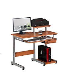 Techni Mobili Complete Computer Workstation Desk, Quick Ship