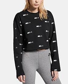 Nike Air Logo-Print Sweatshirt