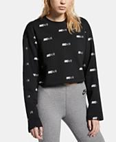 8d9a9832 Nike Air Logo-Print Sweatshirt