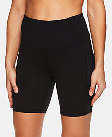 Gaiam High-Rise Compression Shorts