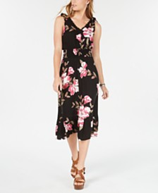 American Rag Juniors' Tie-Shoulder Dress, Created for Macy's