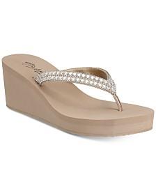 Thalia Sodi Emira Wedge Flip-Flop Sandals, Created for Macy's