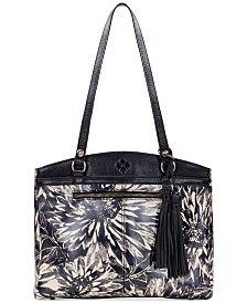 Patricia Nash Sunflower-Print Poppy Tote