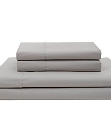 Cotton Percale Queen Sheet Set