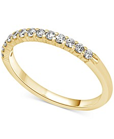 Diamond (1/4 ct. t.w.) Band in 14k White, Yellow or Rose Gold
