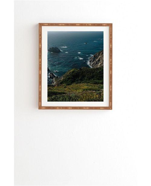 Deny Designs Big Sur California V Framed Wall Art