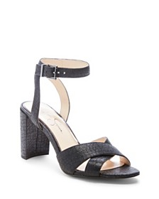 6657ce5357c Jessica Simpson Sherron Two-Piece Block-Heel Sandals   Reviews ...