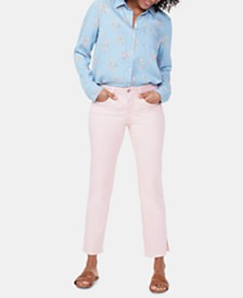 NYDJ Marilyn Tummy-Control Straight Ankle Jeans