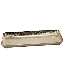 Mind Reader Gold Plated Iron Jewelry Storage Tray Display