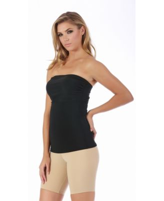 InstantFigure Strapless Bandeau Top