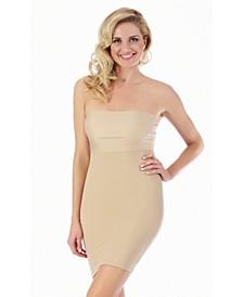InstantFigure Compression Slimming Bandeau Slip Dress