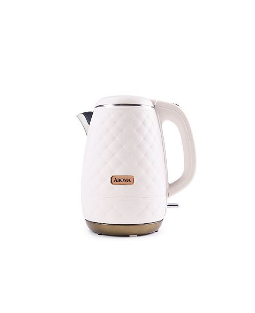 Aromatique Aroma Professional 1.2 Qt. Surgical Grade Stainless Steel Electric Tea Kettle