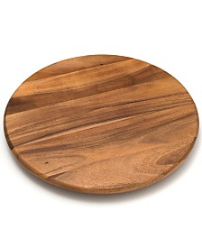 "Lipper International 18"" Acacia Lazy Susan"