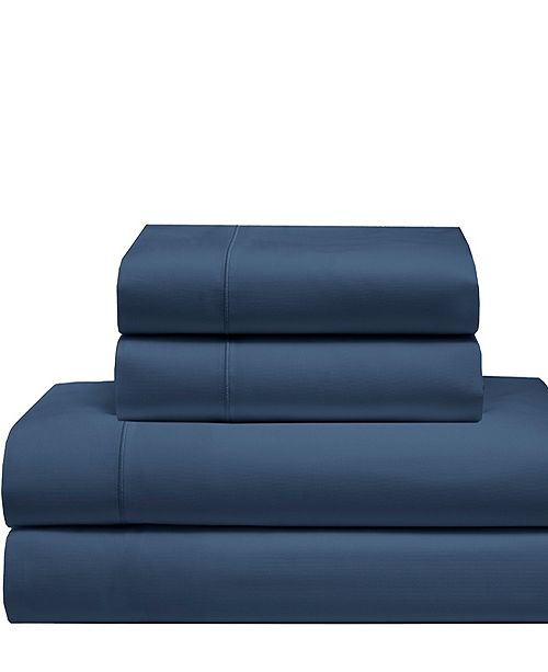 Elite Home Cool Comfort Cotton Solid California King Sheet Set
