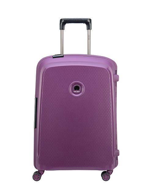 """Delsey CLOSEOUT! Belfort DLX 20"""" Carry-On Spinner Suitcase"""