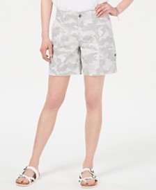 Style & Co Camo Cargo Shorts, Created for Macy's