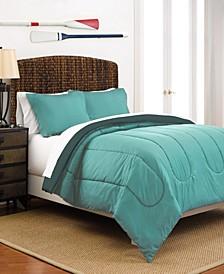 Martex Reversible Full/Queen Comforter Set