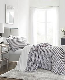 WestPoint Home Crushed Velvet Full/Queen Quilt Set