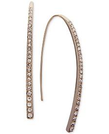 Givenchy Crystal Threader Earrings
