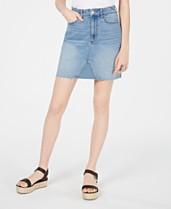 e87186187c37 Tinseltown Juniors' Denim Mini Skirt