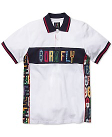 Born Fly Men's Logo Graphic Polo
