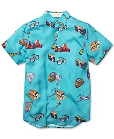 Born Fly Men's Cash Money Graphic Shirt