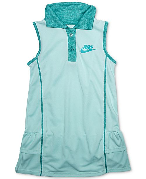 Nike Little Girls Sportswear Polo Dress