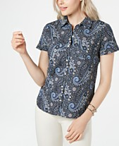9fd2b0a092 Tommy Hilfiger Pacific Paisley Button-Up Camp Shirt