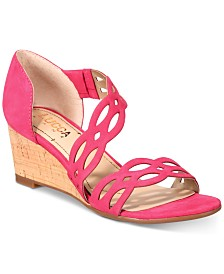 Lucca Lane Evan Wedge Sandals