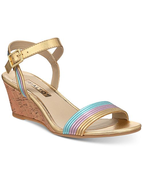 Rialto Cadis Wedge Sandals