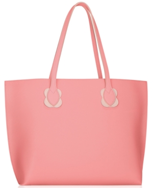 ! Receive a free pink tote with any $52 purchase from the