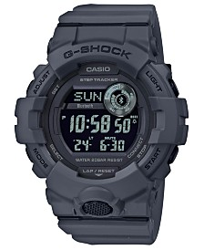 G-Shock Men's Digital Gray Resin Strap Watch 48.6mm
