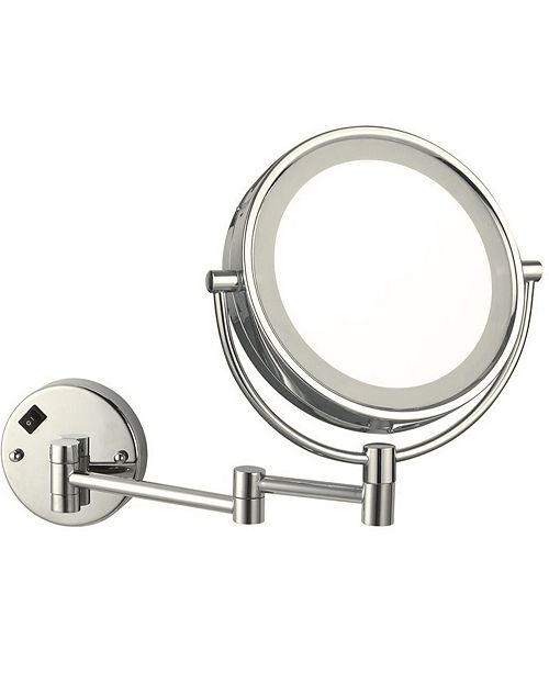 Nameeks Glimmer Double Face Round LED 3x Makeup Mirror