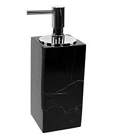 Anthurium Black Marble Soap Dispenser