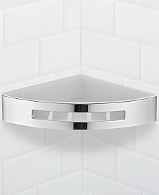 Nameeks General Hotel Chrome Corner Wall-Mounted Shower Basket