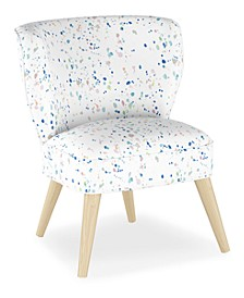 Whim Collection Shane Curved Armless Chair