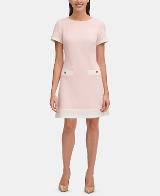 petite fit and flare dresses