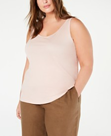 Eileen Fisher Plus Size Tank Top