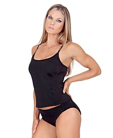 Swimwear Hipster Bottom with Super Slimming Control and 3 Inch Sides with Full Coverage Derriere