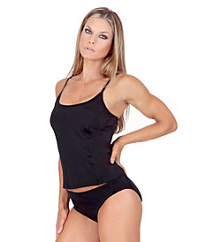 InstantFigure Swimwear Hipster Bottom with Super Slimming Control and 3 Inch Sides with Full Coverage Derriere