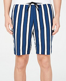 INC Men's Striped Shorts, Created for Macy's