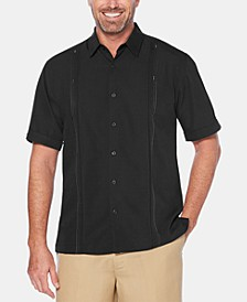 Men's Big & Tall Double Tuck Short-Sleeve Shirt